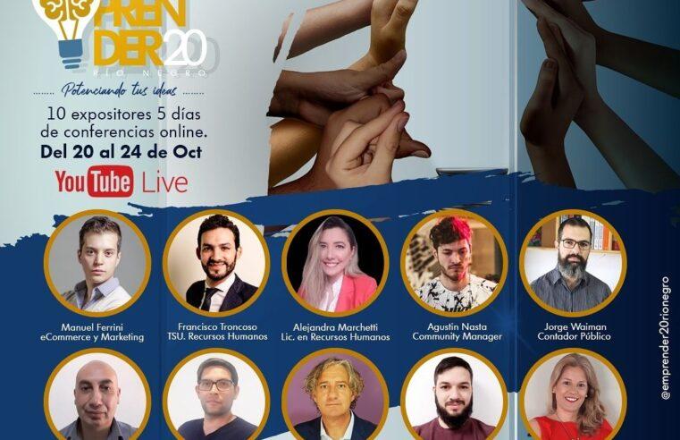 Con un ciclo de capacitaciones, y un monto de $600.000 para los ganadores del Premio Joven Emprendedor Rionegrino, llega Emprender 20 Río Negro