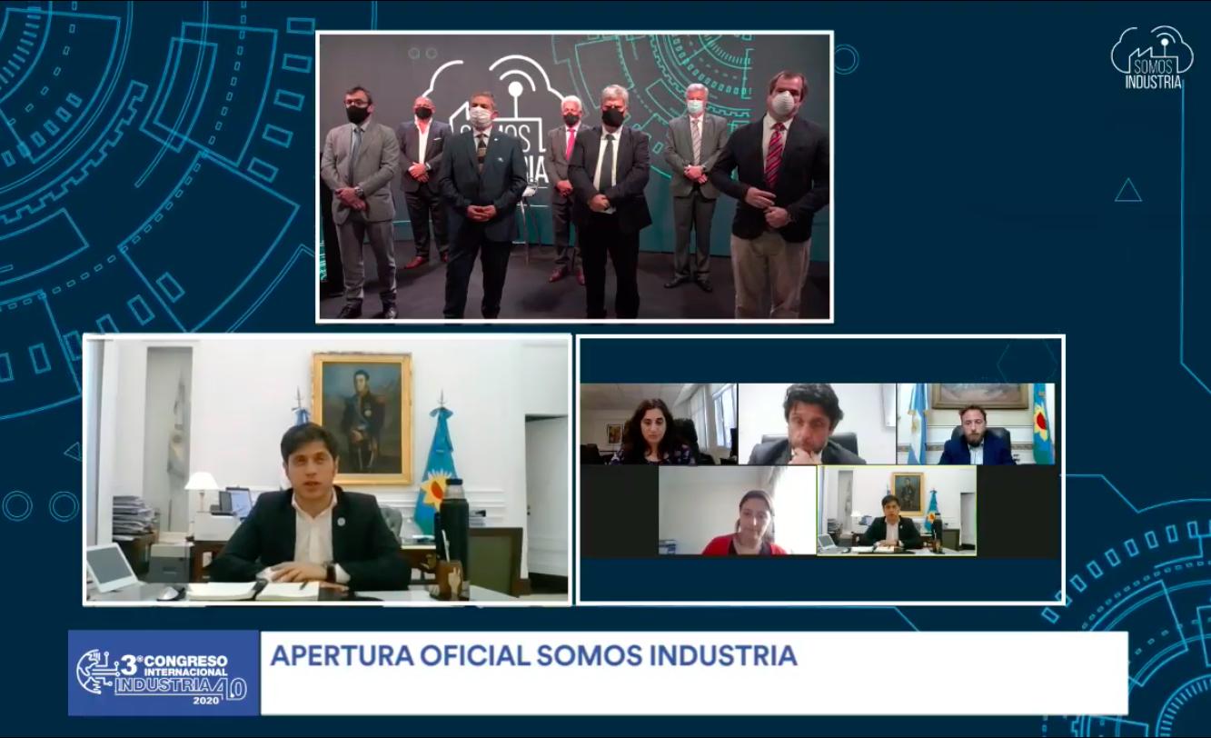 Inauguró SOMOS INDUSTRIA 2020 virtual