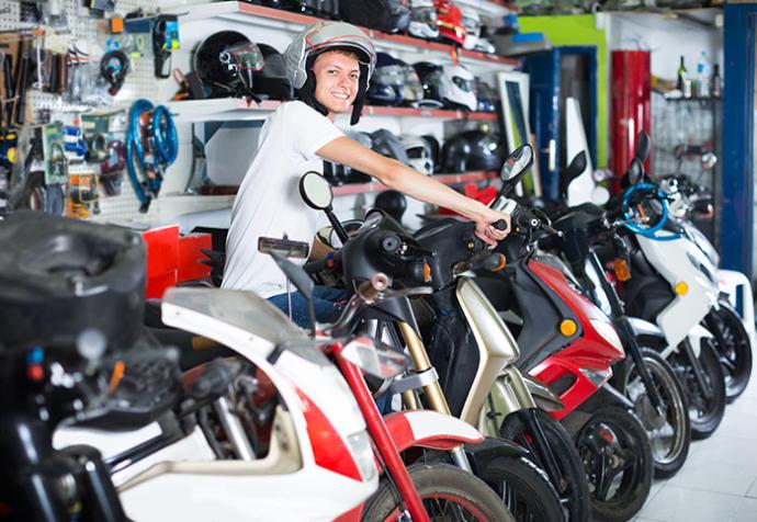 En 72 horas El Banco Nación completó el cupo mensual de créditos para la compra de motos
