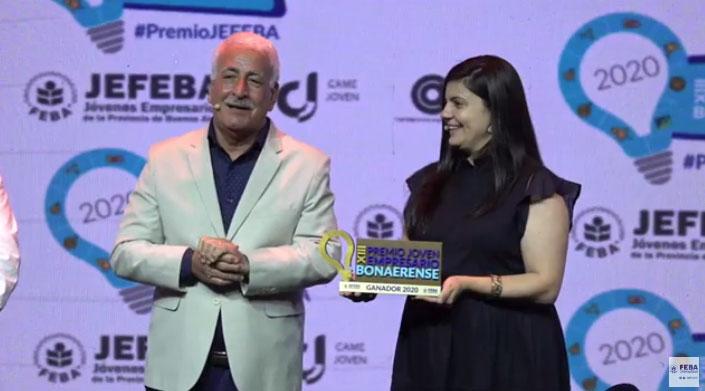 """Se entregaron los premios """"Joven Empresario Bonaerense 2020"""""""