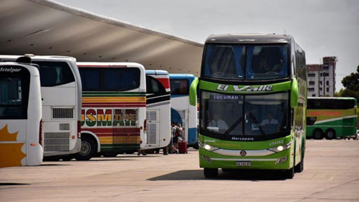 El número de pasajeros en el transporte de larga distancia cayó un 80% respecto de enero del 2020