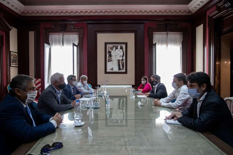 «Acordamos la necesidad de trabajar en conjunto para desarrollar proyectos productivos»