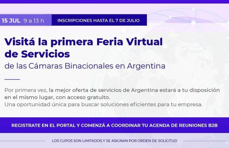 Llega la Primera Feria de Servicios Virtual para empresas organizada por las cámaras binacionales