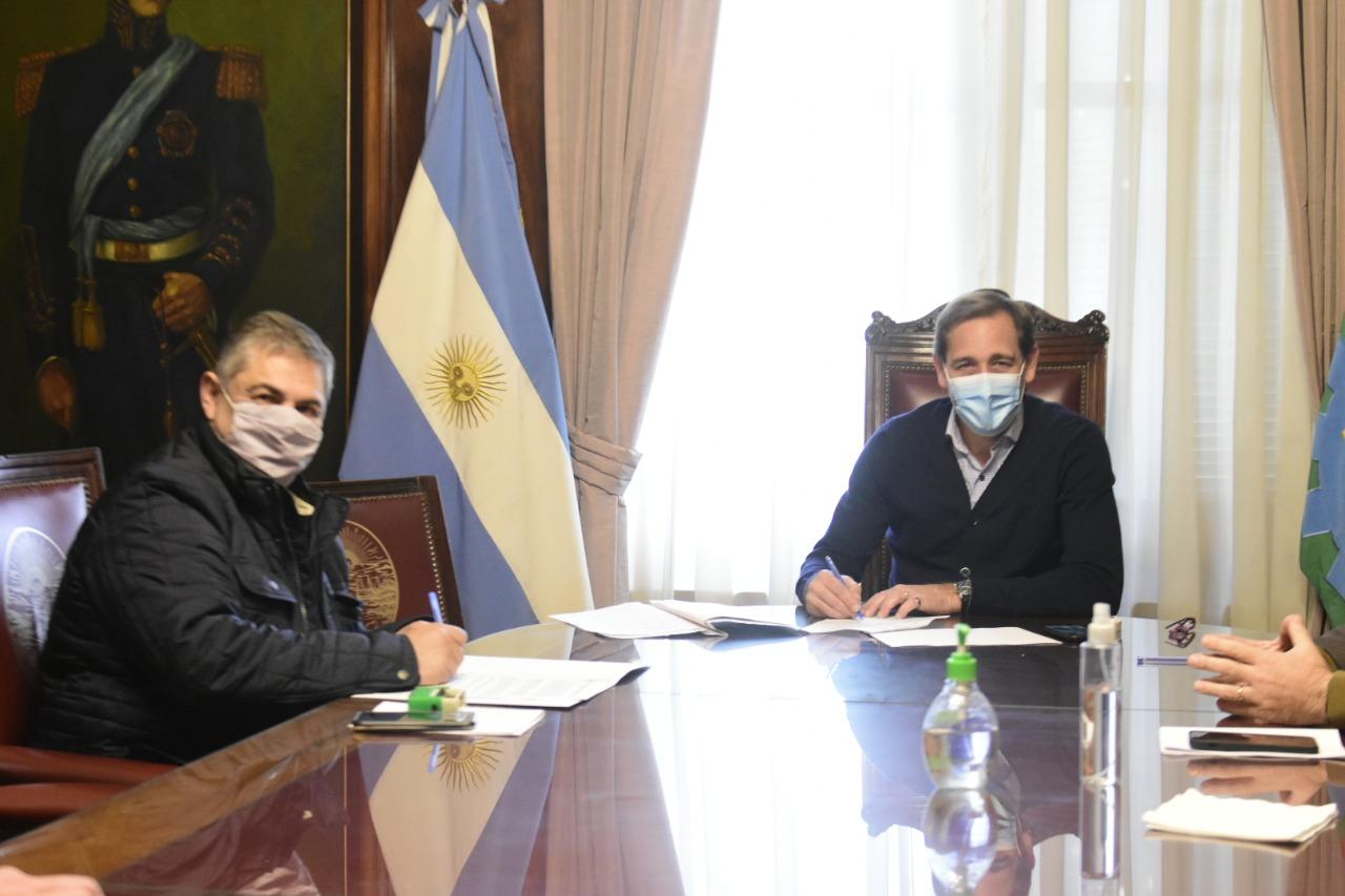 CEPBA firmó convenio con la ciudad de La Plata para formar y capacitar a empresas y trabajadores