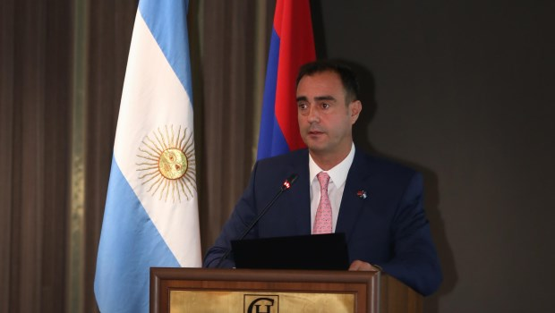 Fue presentada en Armenia la Cámara de Comercio Argentina