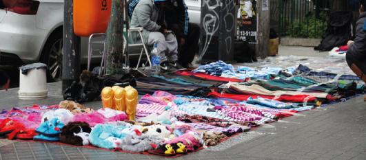 Informe CAC: en septiembre, la venta ilegal callejera en Capital Federal subió 2,5%