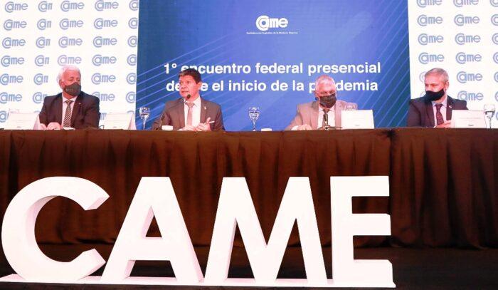 Se realizó la 1° reunión presencial de Consejo Directivo de CAME con participación federal